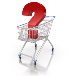 Are the store shopping carts clean?